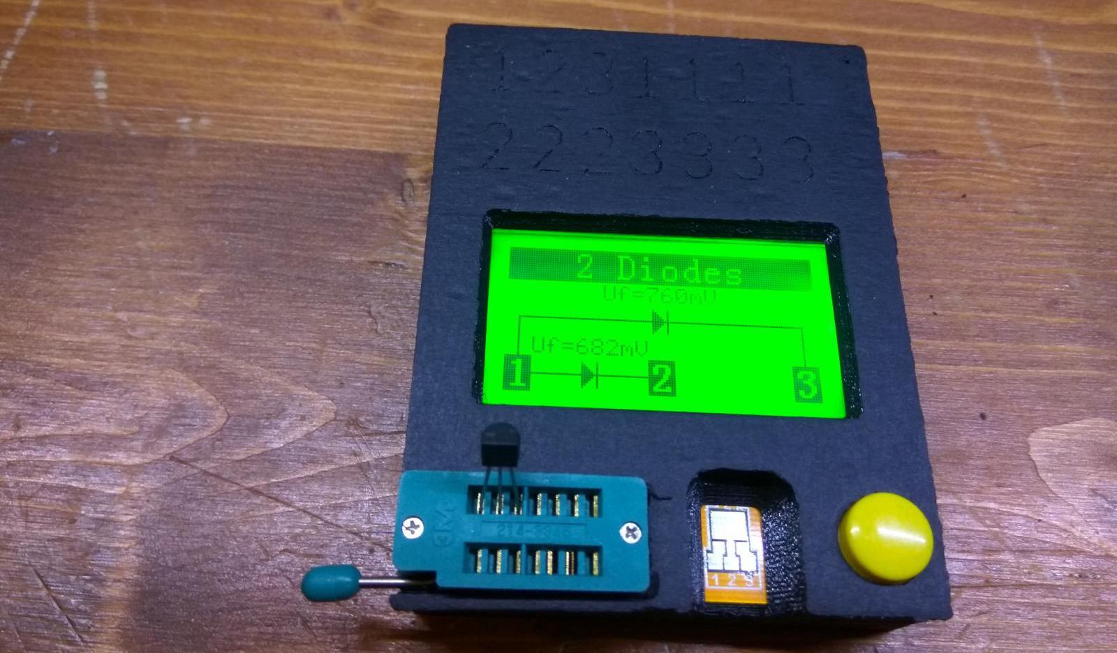 Kurz gezeigt: Komponenten Tester LCR-T4